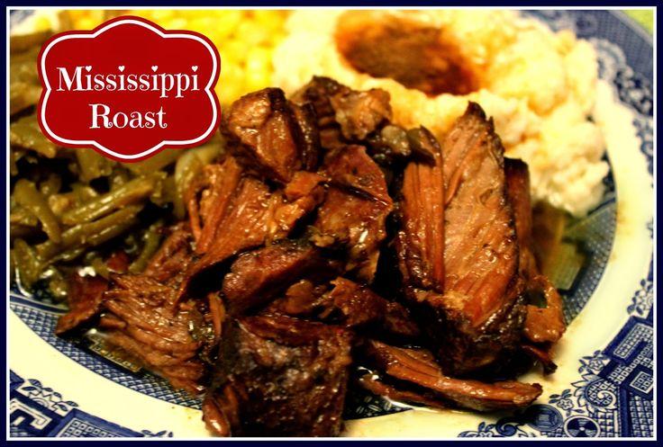 Sweet Tea and Cornbread: Mississippi Roast!