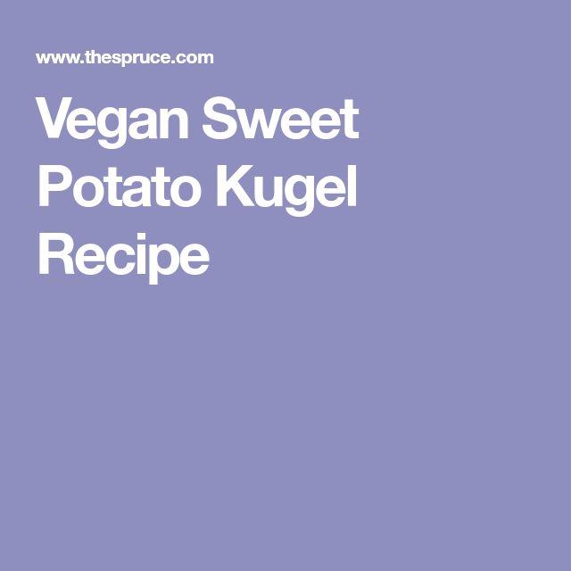 Vegan Sweet Potato Kugel Recipe