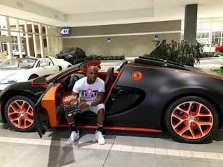 Breaking News ! Floyd Mayweather Bugatti Up For Sale   Wanna drive like Floyd Mayweather? If you've got a cool $4 mil you can buy his old 2015 Bugatti ... on eBay!TMZ Sports has learned the boxer recently sold his 2015 Bugatti Grand Sport Vitesse to the Luxury Auto Collection in Scottsdale AZ ... which is now offering it up with a $3.95 million price tag. L.A.C. even created a post on eBay in case any rich people wanna get in an online bidding war over the whip. The listing says the car has…