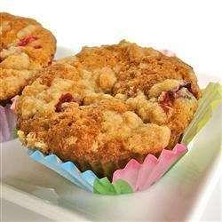 Muffins au zucchini, canneberges et noix