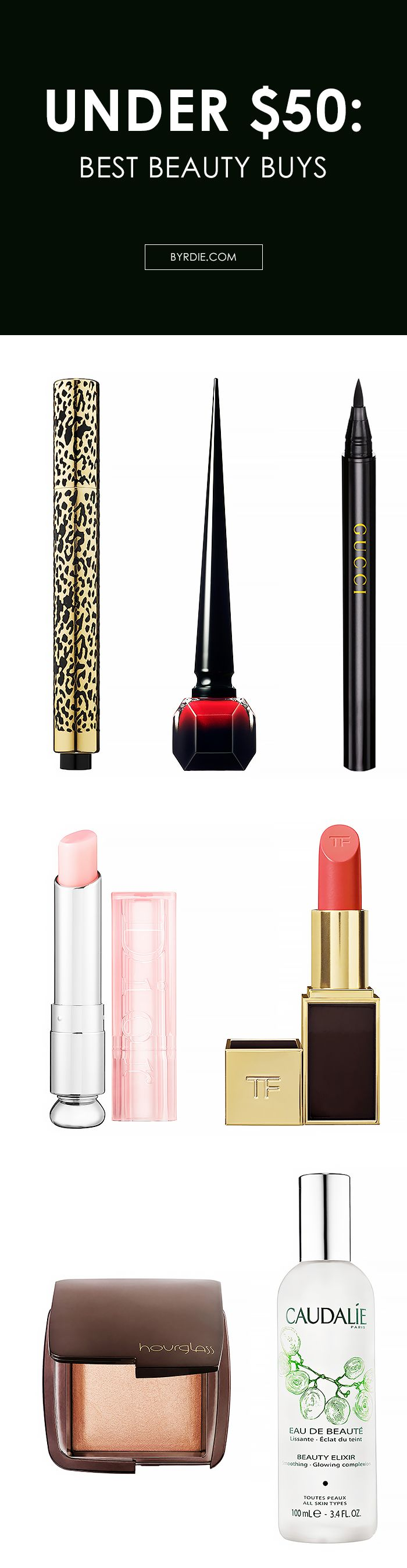 The best splurge-worthy beauty buys, all under $50 // #makeup #shopping