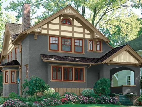 Almost Fairytale Cottage Meets Craftsman Bungalow... Craftsman Bungalow  ExteriorBungalow HomesBungalow ...