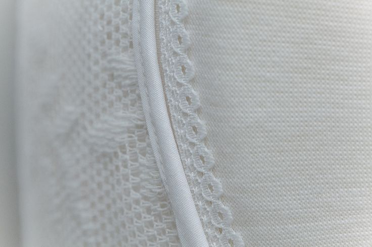 ~ Till Death Do Us Part ~ sleeve detail, vintage lace finished with piping.