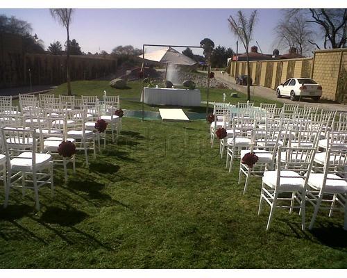 La c pula jard n de eventos jard n para boda estado de for Jardines pequenos mexicanos
