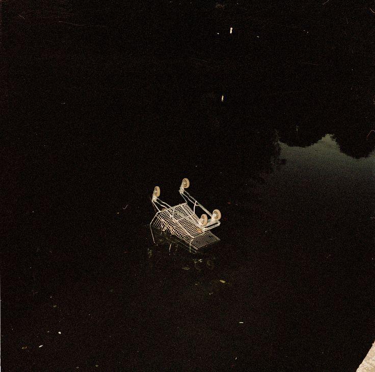 Shopping Trolley in Elwood Canal, 2003 - Glenn Sloggett