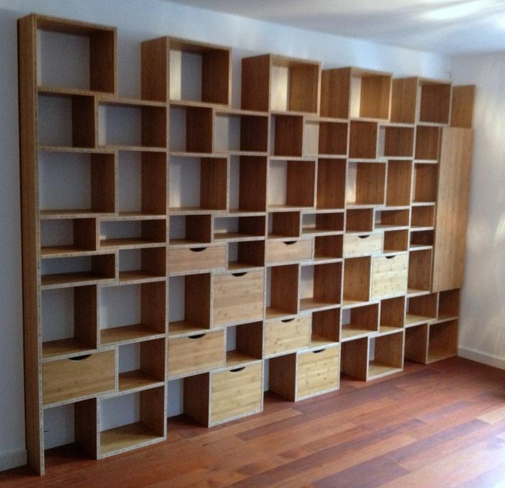 WOOM design bamboo cabinet