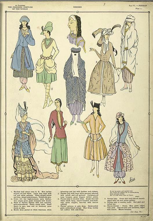 Persian Dresses 1926~27         ([1926-1927])