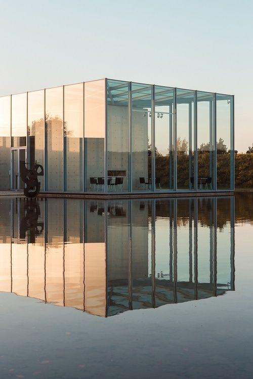 Langen Foundation in Germany by Tadao Ando