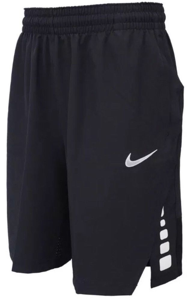 7166de1a4b28 Nike Men s Flex Hyper Elite Basketball Shorts NEW 831368 010 Black Size  Medium  Nike  Athletic