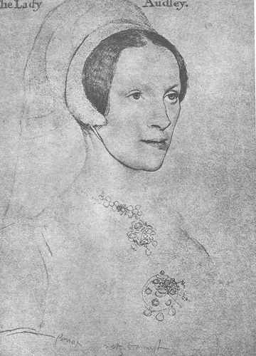 Elizabeth Grey, Lady Audley, sister of Henry Grey and Jane Grey's paternal aunt