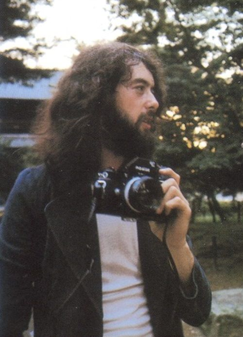 jimmy page with a camera