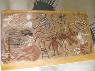 Homeschool Crafts, Aboriginal Cave Drawing