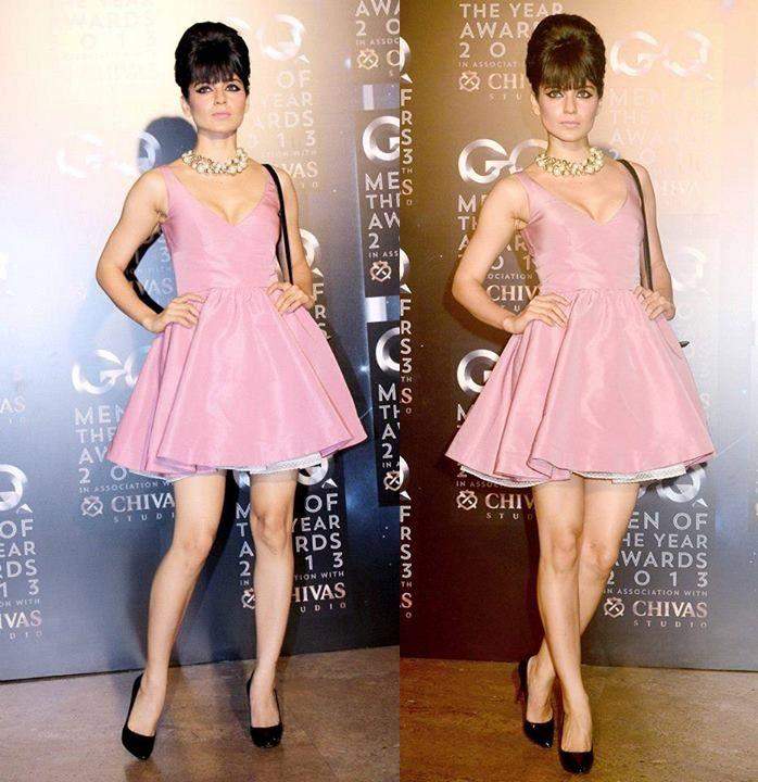 Kangana Ranaut looks Hot in Dior at GQ Awards 2013