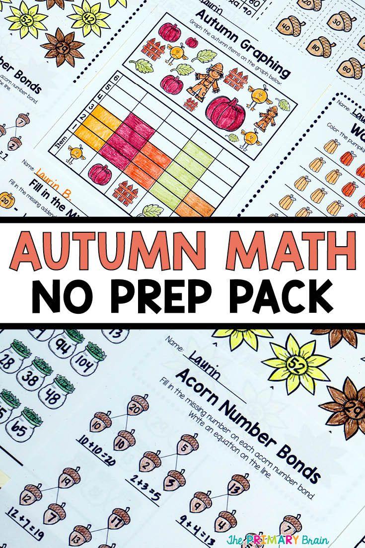 worksheet Number Bonds Worksheet the 25 best number bonds worksheets ideas on pinterest autumn no prep math worksheet pack just print and go great for kindergarten challenge