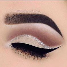 beautiful cut crease #makeup #cutcrease #eyeshadow