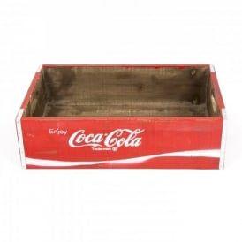 Boutique Camping Coca Cola Vintage Style Crate