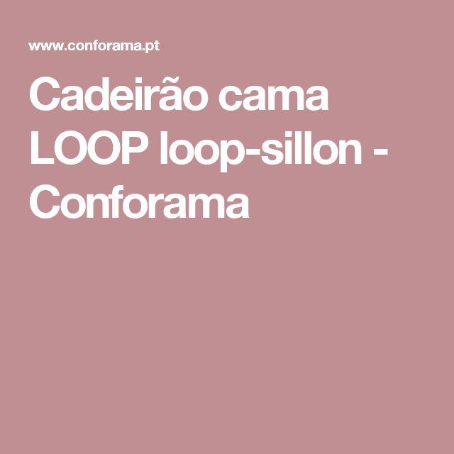 Cadeirão cama LOOP loop-sillon - Conforama