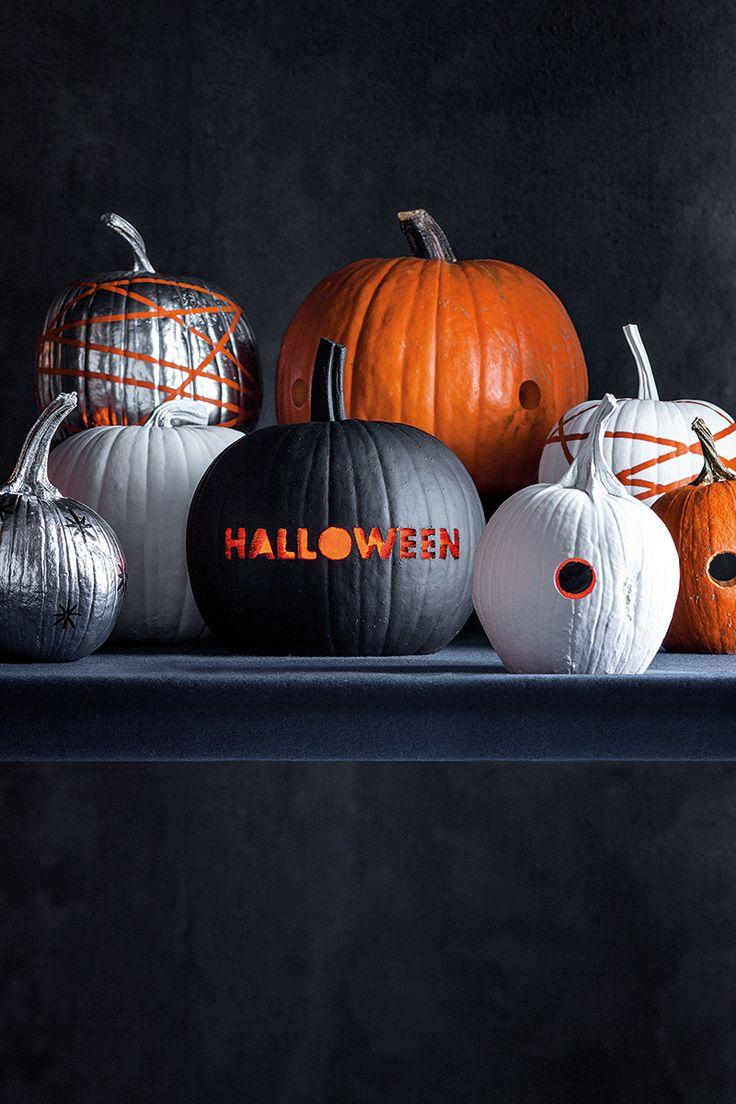 Pinte ou recorte a sua abóbora neste #Halloween! #Abóboras