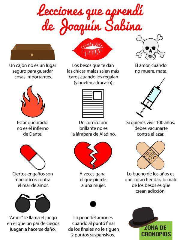 Lecciones que aprendí de Joaquín Sabina http://zonadecronopios.wordpress.com/2014/08/04/lecciones-sabineras/