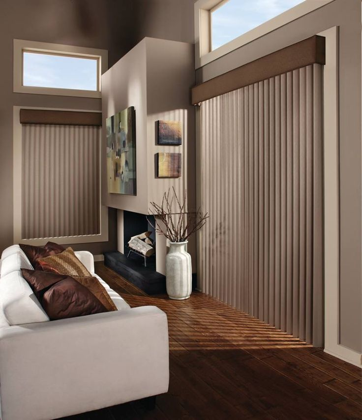 Best Vertical Blinds Images On Pinterest Blinds Hunter - Hunter douglas blinds for patio doors