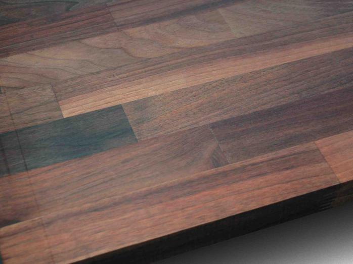 Solid Wood Kitchen Worktop - Walnut