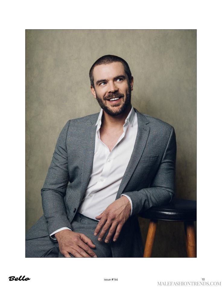 Male Fashion Trends: Charlie Weber posa para BELLO Magazine en fotos de Arthur Galvao