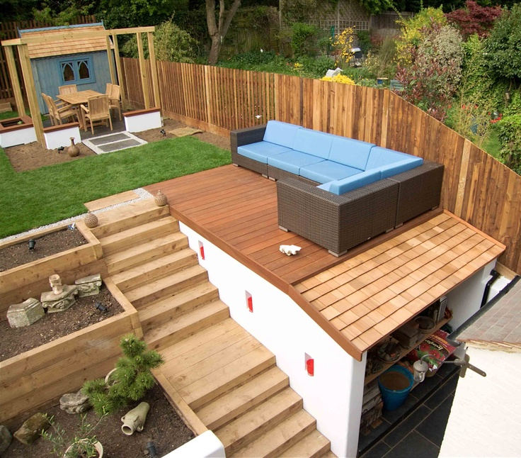 Garden Design On A Hill 50 best garden design images on pinterest   contemporary gardens