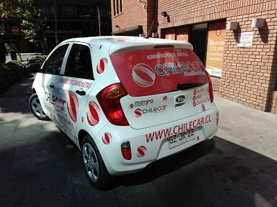 Chile Car, rent a car: Nuestro vehículo corporativo ¡Si nos ves en la cal...