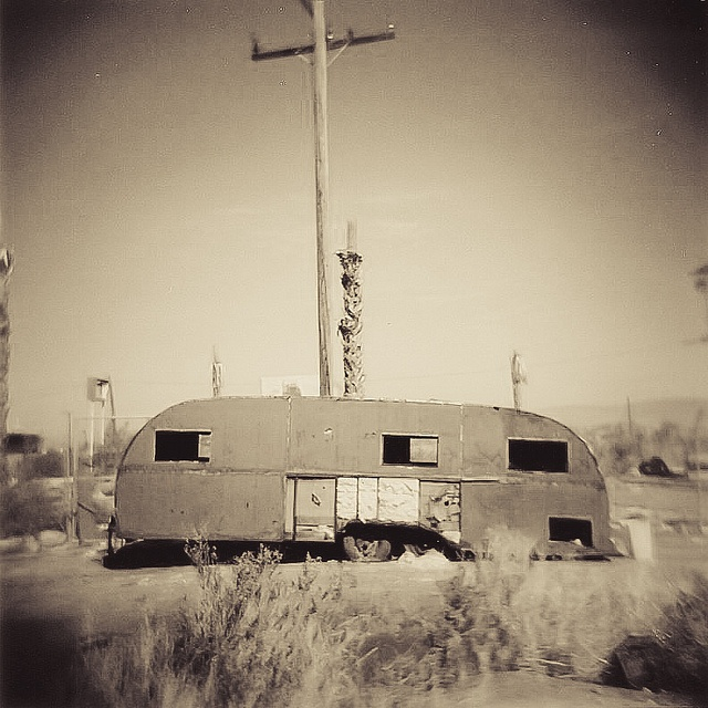 Salton Sea Trailer Holga