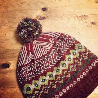 Ravelry: JohnSunday's Free Isle style hat