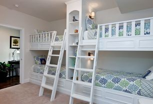 """View this Great Traditional Kids Bedroom with Built in bunk beds & Built-in bookshelf. Discover & browse thousands of other home design ideas on Zillow Digs."""