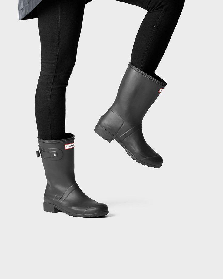 Women'S Original Tour Short Rain Boots | Official Hunter Boots Site