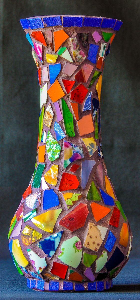 Mosaic Vase. Laurel Sheridan