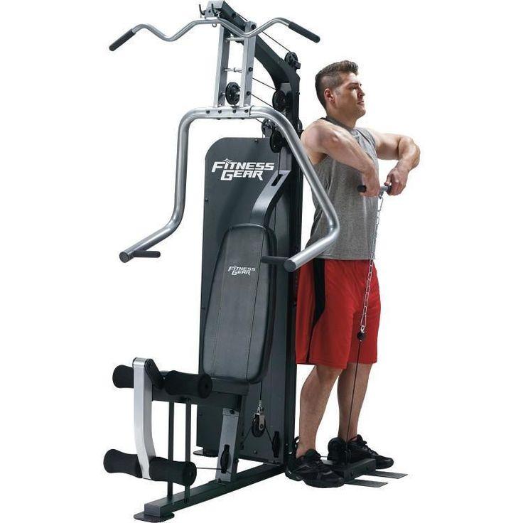 Fitness gear home gym ekey fitness fitness gear home