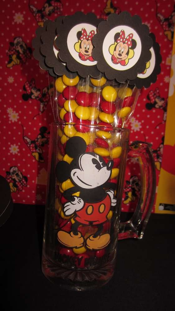 Minnie Mouse - Red Birthday Party Ideas | Photo 1 of 32 | Catch My Party