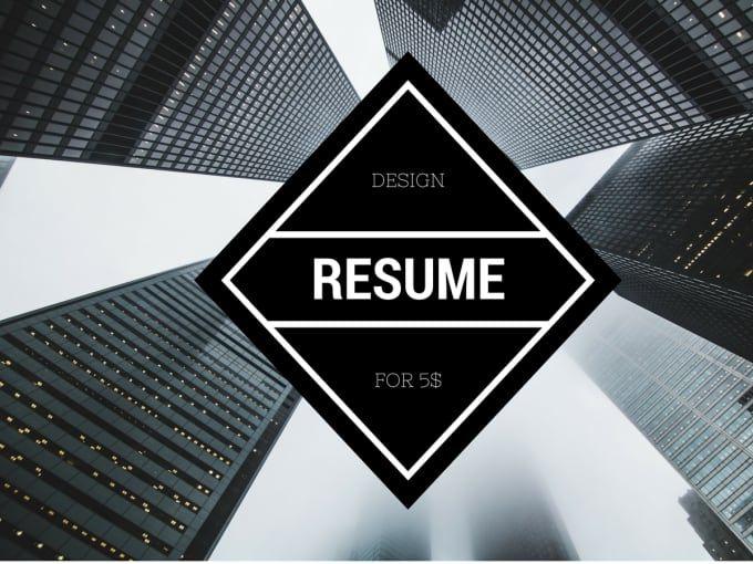 16 best Designer Resume images on Pinterest Resume, Templates - fiverr resume
