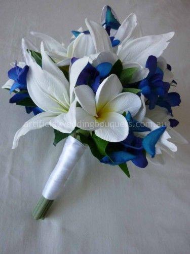 Blue Stunner Bridal Bouquet