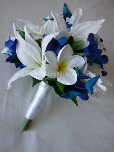 Blue Stunner Bridal Bouquet