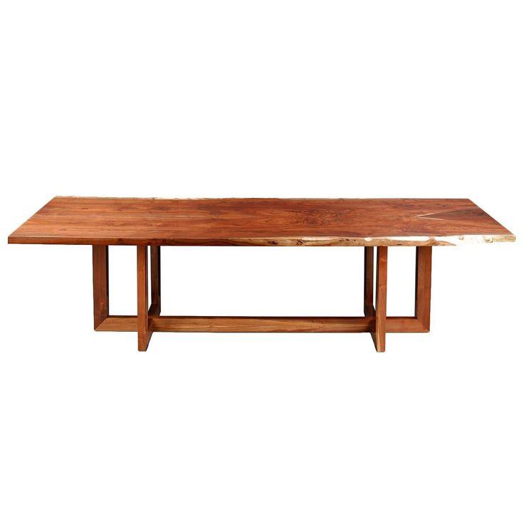 """Berlin"" Dining Table in California Black Walnut by Studio Roeper"
