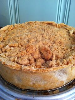 deep dish apple pie with crumb topping - from smitten kitchen cookbook