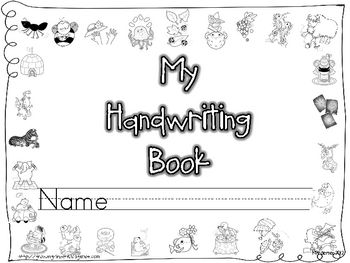 Give your students a bit of extra practice with this handwriting book!  All 26 letters are included as well as a sight word sentence to practice co...