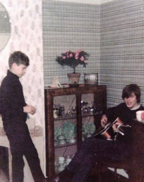 Very young David Gilmour | Pink Floyd