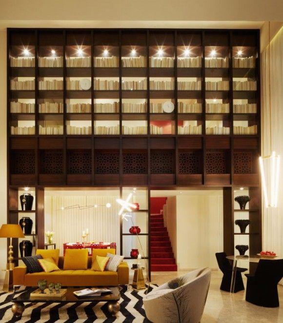 Living room design jade jagger for yoo mumbai space for Living room ideas mumbai