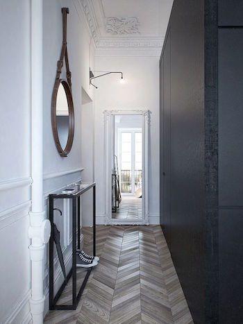 1000 id es sur le th me couloir sombre sur pinterest halls d 39 entr e d - Amenager un couloir long et etroit ...
