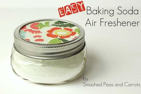 8.) Baking Soda Air Freshener