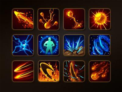 Skill icon on Behance