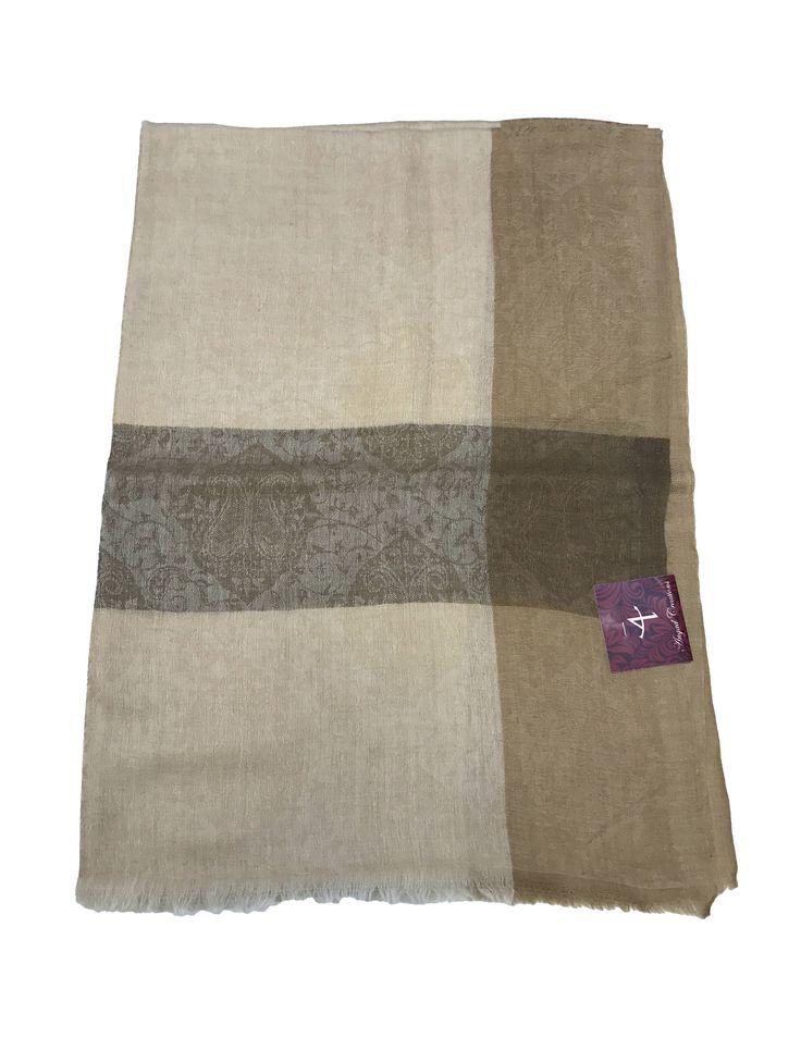 Pure Pashmina Scarf/Stole, Pure Cashmere Shawl, Wrap, Shawl, Stole, Scarf by AngadCreations on Etsy #pure #pashmina #cashmere #jacquard #self #design #kashmiri #embroidery #natural #Kashmir #multi #colour #shawl #stole #orni #india #wrap #scarf #indian #traditional #ethnic #wear #fashion #trend #india