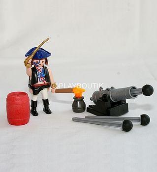 PLAYMOBIL Pirate CANONNIER - Pas cher du tout !! http://www.playboutik.com/achat-playmobil-canonnier-pirate-408521.html