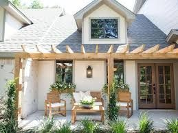 Image result for house with pergola in front porch