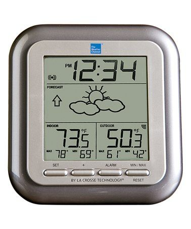 Loving this The Weather Channel® Wireless Weather Station on #zulily! #zulilyfinds